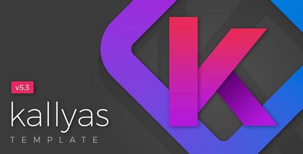 KALLYAS - Gigantyczny, wielozadaniowy szablon HTML5 + Kreator stron