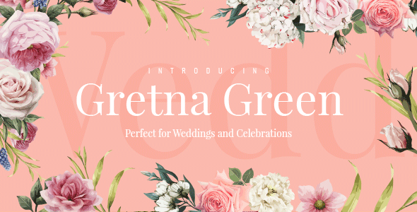 Gretna Green - Wedding Planner Theme