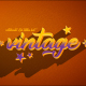 4K Vintage Retro 10 Logo Text Intro Pack - VideoHive Item for Sale