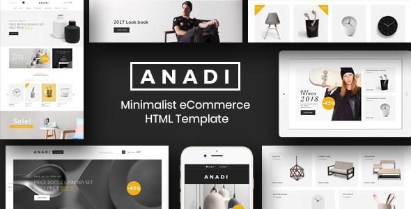 Furniture eCommerce HTML Template - Anadi