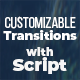 Customizable Transitions - VideoHive Item for Sale