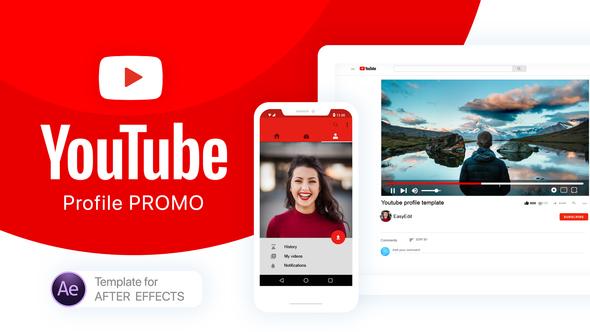 YouTube Profile Promo