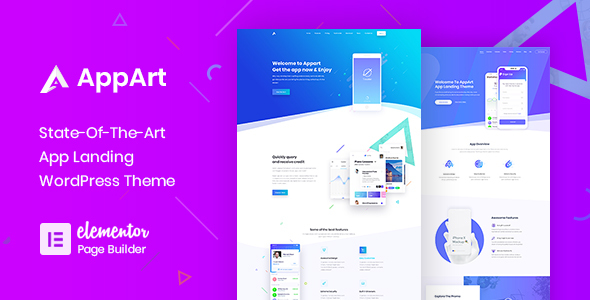 AppArt - Creative WordPress Theme For Apps, Saas & Software