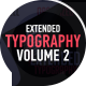 Extended Typography Mogrt Vol.2 - VideoHive Item for Sale