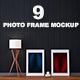 Photo Frame Mockups Vol. 2 - GraphicRiver Item for Sale