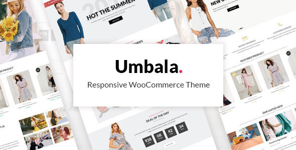 Umbala Fashion - Fashion Stylish Clothing WooCommerce Theme