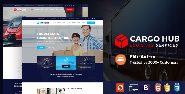Courier Templates from ThemeForest