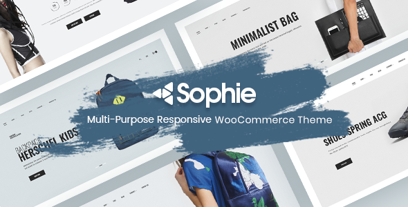 Minimal WooCommerce Theme - Sophie