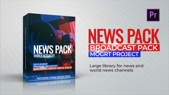 News Library - Broadcast Pack Cracked Videohive (3 33 MB