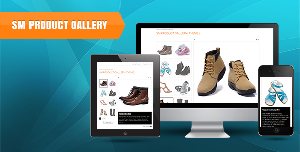 SM Product Gallery - Responsive Magento Module