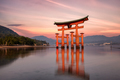 Miyajima Tori Gate at Sunset - PhotoDune Item for Sale
