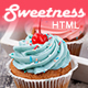 Sweetness - One Page HTML Template - ThemeForest Item for Sale