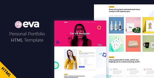 Eva - Creative Portfolio HTML Template