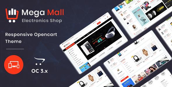 Megamall 3.0.X Opencart MultiPurpose Responsive Theme