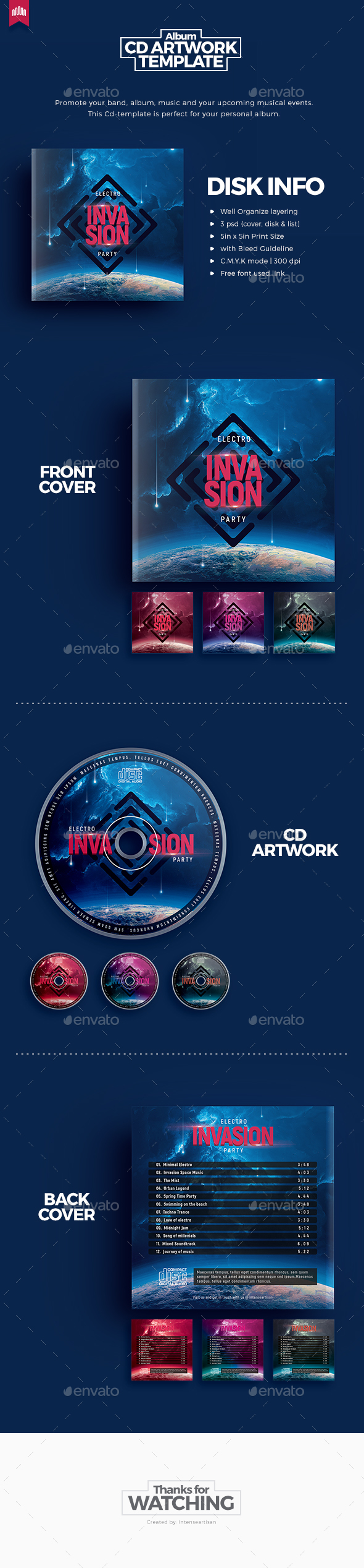 Fusion and Space Graphics, Designs & Templates from GraphicRiver