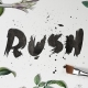 Rush Brush Font - GraphicRiver Item for Sale