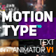 Motion Type - Premiere Pro Mogrt - VideoHive Item for Sale