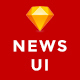 Newsmaker - News & Editorial UI KIT - ThemeForest Item for Sale