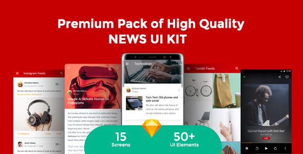 Newsmaker - News & Editorial UI KIT