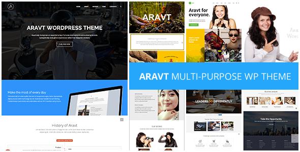 Aravt - Creative MultiPurpose Theme
