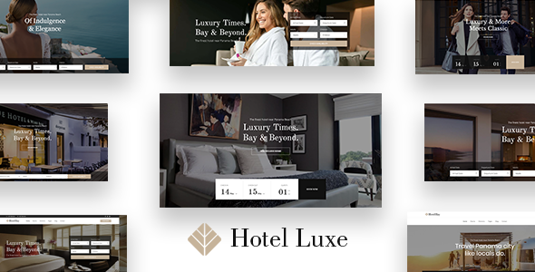 Luxe - Hotel WordPress Theme