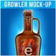 Growler Mock-up - GraphicRiver Item for Sale