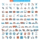 Vehicles Icons Set - GraphicRiver Item for Sale