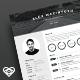 Mono Resume - GraphicRiver Item for Sale