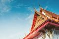 part off thailand buddist temple roof - PhotoDune Item for Sale