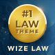 WizeLaw | Lawyer and Law Attorney Service WP Theme - ThemeForest Item for Sale
