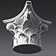 Corinthian Capital 3D model - 3DOcean Item for Sale