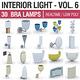 Interior Light Vol 6 - 30 Bra Lamps - 3DOcean Item for Sale