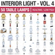 Interior Light Vol 4 - 50 Table Lamps - 3DOcean Item for Sale