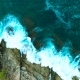 Powerful Ocean Waves Are Washing Up Big Rocks - VideoHive Item for Sale