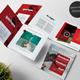 Sport Square Trifold Brochure - GraphicRiver Item for Sale