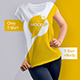 30 Mock-Ups T-Shirt (15 with a body girl / 15 only a T-shirt) - GraphicRiver Item for Sale