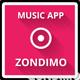Zondimo - Angular Music app - ThemeForest Item for Sale