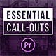 Essential Callouts Library | MOGRT for Premiere - VideoHive Item for Sale