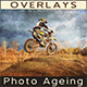 Monochromatic Photo Ageing | Photo Overlay Textures - GraphicRiver Item for Sale