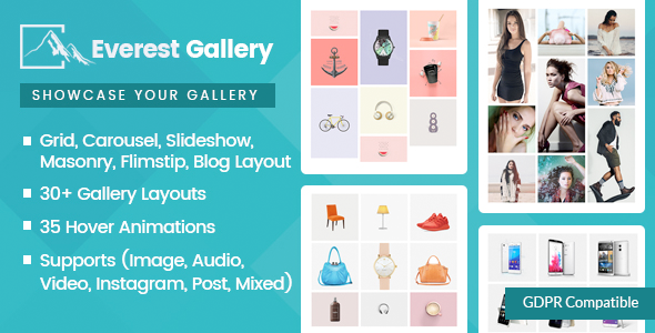 Everest Gallery - Responsive WordPress Gallery Plugin Download