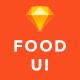 Foodd - Food UI KIT for Sketch - ThemeForest Item for Sale
