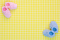 Baby booties background - PhotoDune Item for Sale