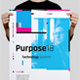 Purpose Series 1 Poster / Flyer Template - GraphicRiver Item for Sale