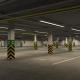Underground parking garage 01 - 3DOcean Item for Sale