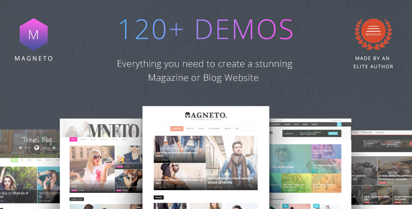 Magneto – ECommerce Multi Concept Newspaper / News / Magazine / Blog WordPress Theme