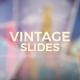 Vintage Photo Slides - VideoHive Item for Sale