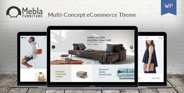 Mebla - Multi Concept WooCommerce WordPress Theme