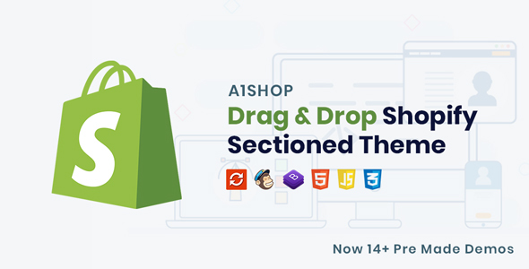 A1Shop - Responsive & Multipurpose Sectioned Drag & Drop Shopify Theme