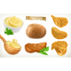 Potato, Mash and Chips - GraphicRiver Item for Sale