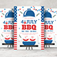 4th of July BBQ Flyer - GraphicRiver Item for Sale